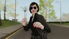 Karen Daniels V3 GTA V для GTA San Andreas