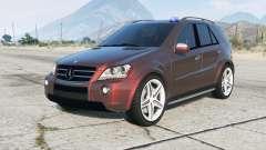 Mercedes-Benz ML 63 AMG Kriminalpolizei для GTA 5