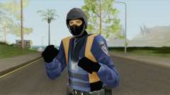 Beta Swat Skin (GTA Vice City) для GTA San Andreas