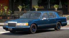Lincoln Towncar ST для GTA 4