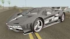 Pegassi Lampo K20 (Carbon) GTA V для GTA San Andreas