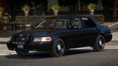 Ford Crown Victoria BE Police V1.1 для GTA 4