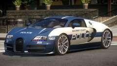 Bugatti Veryon Police V1.0 для GTA 4