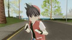 Trainer Red (Pokemon Adventures Manga) для GTA San Andreas