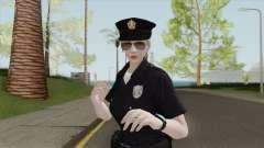 Rubia Policeman V2 (Bugstars Equipment) для GTA San Andreas