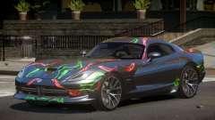 Dodge Viper GTS SV PJ4 для GTA 4