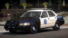 Ford Crown Victoria CR Police для GTA 4