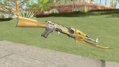 AK-47 (Beast Imperial Gold) для GTA San Andreas