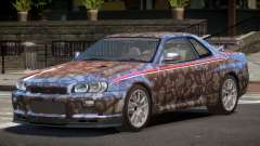 Nissan Skyline GT-R R34 Qz PJ3 для GTA 4