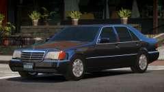 1993 Mercedes 600SEL для GTA 4