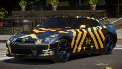 Nissan GT-R Qz PJ3 для GTA 4