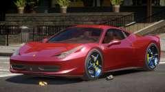 Ferrari 458 Italia V2.1 для GTA 4