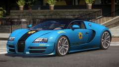 Bugatti Veryon Police V1.1 для GTA 4