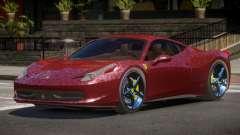 Ferrari 458 Italia V1.2 для GTA 4