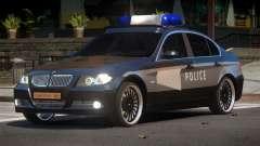 BMW 320i RS Police для GTA 4