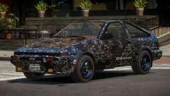 Toyota AE86 GT-S Hatchback PJ4 для GTA 4