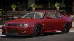 Nissan Skyline GT-R R33 RS для GTA 4