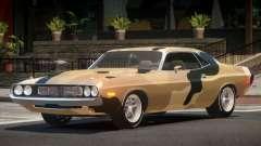 1971 Dodge Challenger RT V1.2 PJ3 для GTA 4