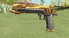 Desert Eagle (Born Beast Noble Gold) для GTA San Andreas
