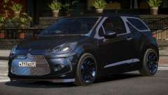 Citroen DS3 RS для GTA 4