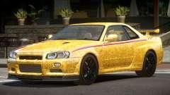 Nissan Skyline GT-R R34 Qz PJ6 для GTA 4