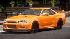 Nissan Skyline R34 L-Tuned для GTA 4
