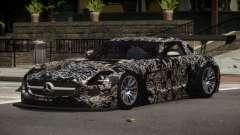 Mercedes SLS R-Tuning PJ6 для GTA 4
