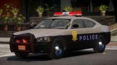 Dodge Charger SR Police для GTA 4