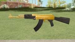 AK-47 (Gold) для GTA San Andreas