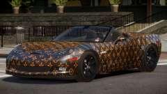 Chevrolet Corvette SR PJ1 для GTA 4