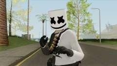Marshmello V2 (GTA Online) для GTA San Andreas