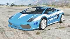 Lamborghini Gallardo Polizia для GTA 5