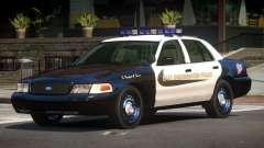Ford Crown Victoria MS Police V1.1 для GTA 4