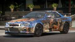 Nissan Skyline R34 L-Tuned PJ4 для GTA 4
