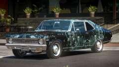 1970 Chevrolet Nova ST PJ3 для GTA 4