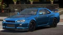 Nissan Skyline GT-R R34 Qz для GTA 4