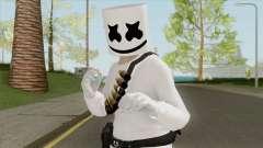 Marshmello V1 (GTA Online) для GTA San Andreas