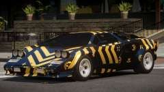 1985 Lamborghini Countach LP500 QV PJ3 для GTA 4