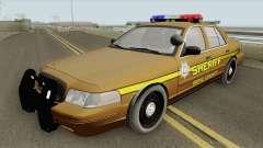 Ford Crown Victoria 2011 (Bone County Sheriff) для GTA San Andreas