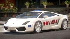 Lambo Gallardo SR Police для GTA 4