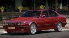 1992 BMW M5 E34 для GTA 4