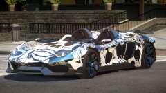 Lamborghini Aventador Spider SR PJ6 для GTA 4