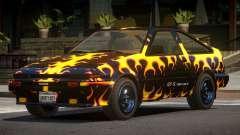 Toyota AE86 GT-S Hatchback PJ3 для GTA 4