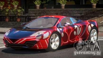 McLaren MP4-12C GT PJ2 для GTA 4