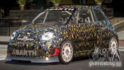 Fiat 500 L-Tuned PJ4 для GTA 4