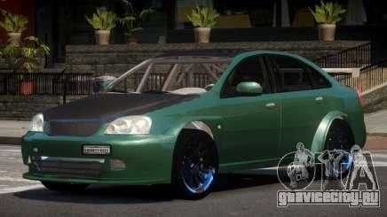 Chevrolet Lacetti L-Tuned для GTA 4