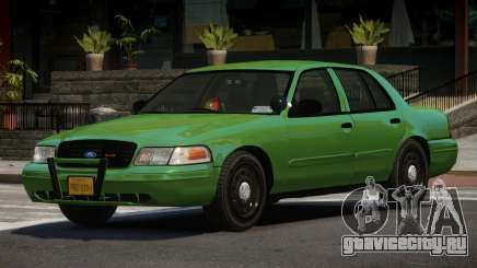 1997 Ford Crown Victoria Spec для GTA 4