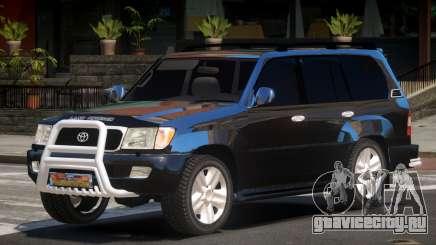 Toyota Land Cruiser 100 LS для GTA 4