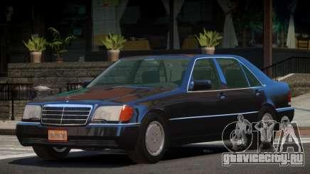 Mercedes Benz 600SEL V1.3 для GTA 4