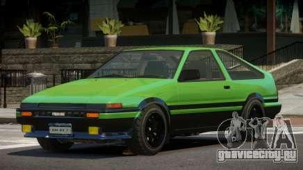 Toyota Trueno ST для GTA 4